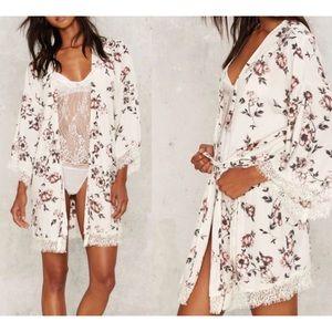 Other - HONEY PUCH KIMONO Robe